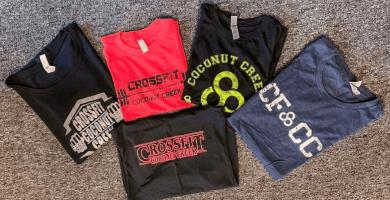 Camisetas CrossFit