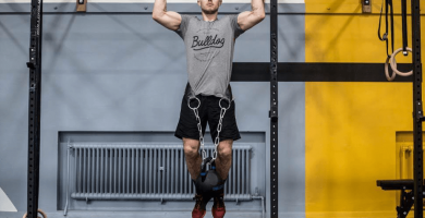 mejor cinturon de lastre para crossfit y dominadas en el gym