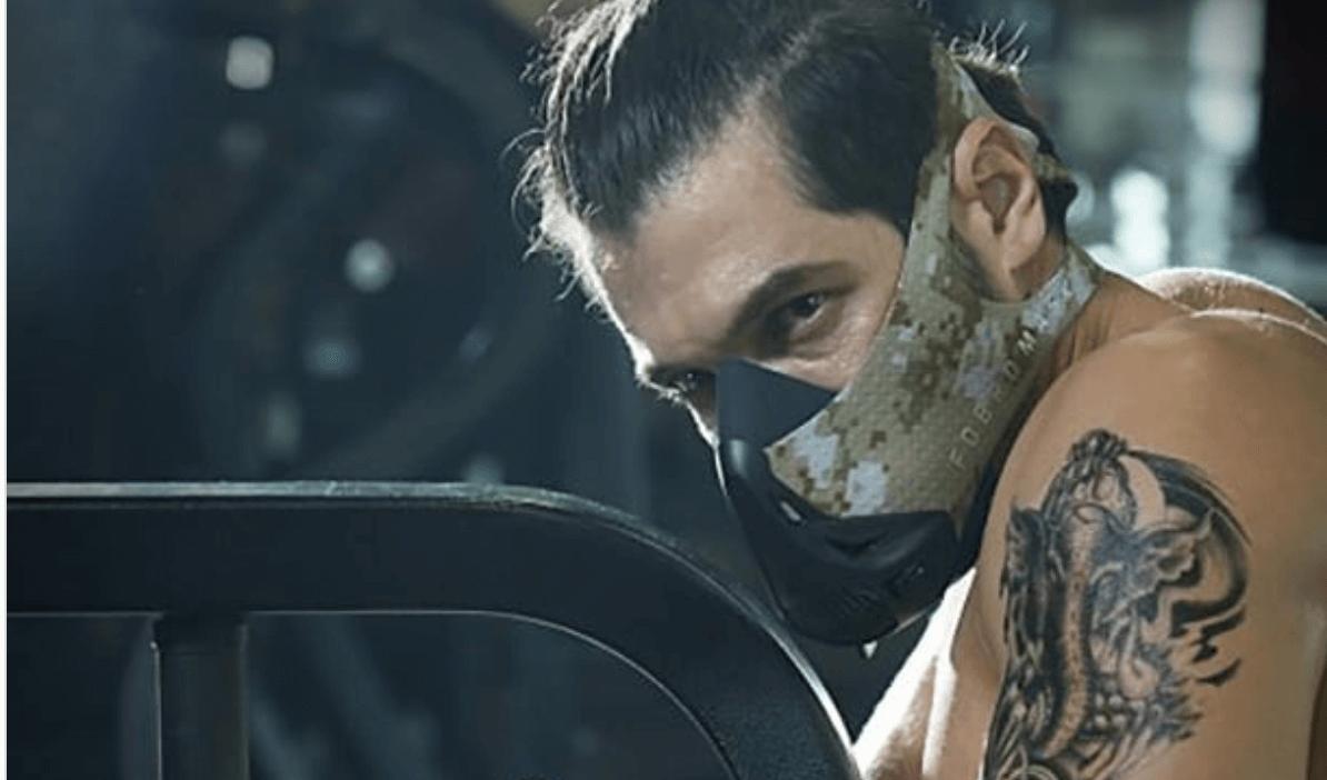 mascara entrenamiento en altura o hipoxia para crossfit y gimnasio (gym)