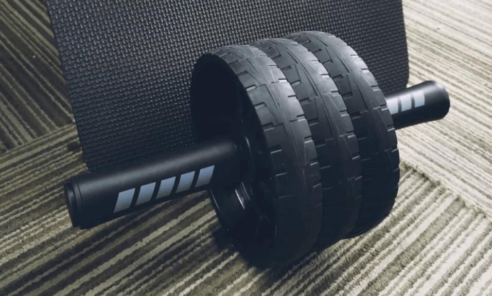 rodillo o rueda abdominal (ab wheel + ab roller)