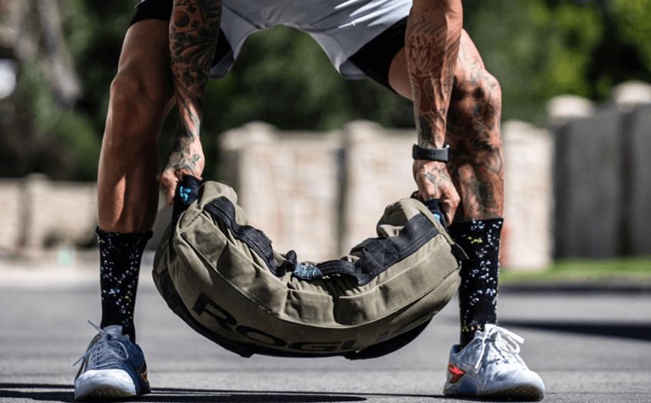 saco de arena búlgaro para crossfit y fitness